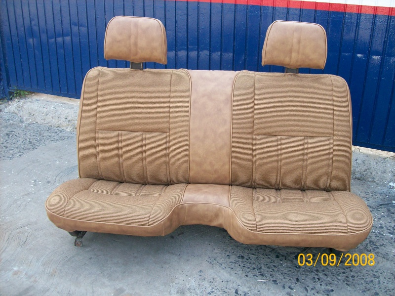 ACIENTOS  TAPISADOS   DE  NISSAN PICK-UP  81 AL 2011,